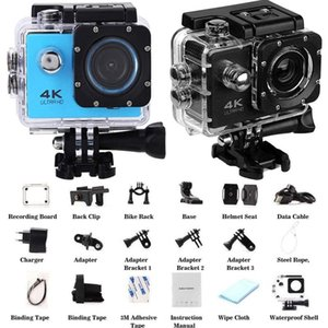 "Telescopes 4K 30fps WiFi 2.0"" 170D HD Action Camera Ultra Underwater Waterproof Diving Swim Helmet Vedio Sport Record Scenery"