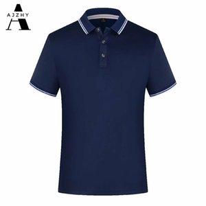 Poloshirt Männer Casual Sommer Solide Farbe Kurzarm Poloshirt Atmungsaktive Trikots Golf Tennis Marken Männer Polo Shirts Plus Größe 210401