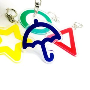 15 Styles Squid Game Mask Keychain Cosplay Costume Peripheral Props Movie Same Pendant Anniversaries Keychains For Women Men Gift GWD10890