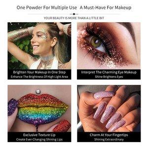 Eye Shadow Glitter Professional Makeup Monochrome Shining Eyeshadow Sequins Universal Party Cosmetic Palete Paleta De Sombra