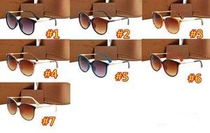 1719 Sunglasses de concepteurs Hommes Femmes Lunettes de vue en plein air Shades PC Cadre Mode Classic Lady Lady Sun Lunettes Miroirs pour femmes 2021