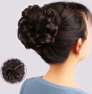 lazy curler female fashion fluffy high temperature silk bud pan ball head Wig hair ring