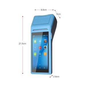 Printers PDA Android Wireless Bluetooth Printer 58mm WIFI Barcode Reader Handheld Terminal Loyverse 3G OTG