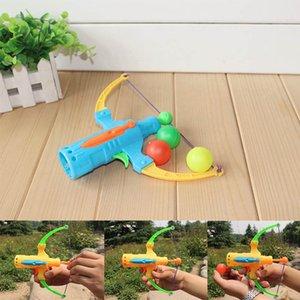 1 stücke arrow tisch tennis gune bogenbogenschießen plastik kugel fliegende disk schießen spielzeug outdoor sport kinder slaubenhot jagd spielzeug