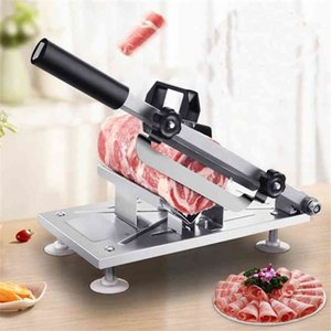 WonderLife Direct Selling Mutton Roll Machine de coupe Potato Slicer Plan 210406