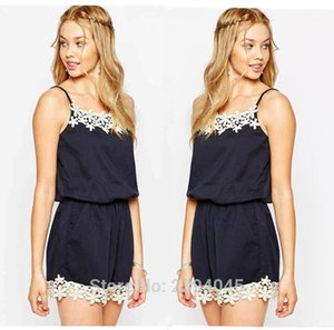 Arrive Fashion Sleeveless Solid Playsuit Summer Women Rompers Women's Jumpsuits &
