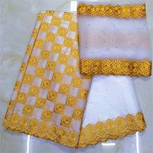 african fabric basin riche getzner bazin brode getzner dentelle tissu nigerian lace material high quality 7yard lotYKB-1