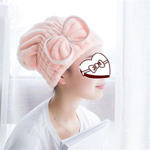 Towel After Shower Hair Drying Wrap Womens Girls Lady's Quick Dry Hat Cap Turban Head Bathing Tools
