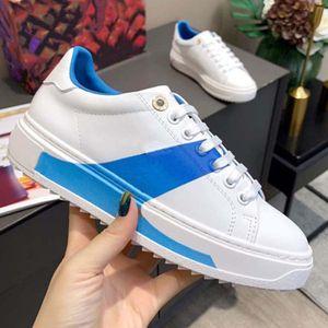 Arrivées Mode Haute Qualité Chaussures Cuir Véritable Femmes Multi Couleur Dégatation Technique Sneakers Femme Célèbre par Chaussure02 02