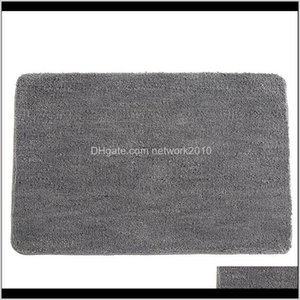 Antislip Microfiber Mat Bathroom Soft Carpet Comfortable Bath Pad Absorbent Dry Fast Design Shower Rugs Toilet Door Mats Easy To Cryr Nsmtz