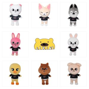 Skzoo Plush Toys New Stray Children Leeknow Hyunjin Stuffed Animal Doll Christmas Birthday Gifts For Kids 21CM