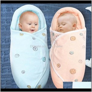 Bags Soft Born Baby Boy Girl Cotton Swaddle Wrap Blanket Protective Sleeping Bag 201128 Umveq C3Ltn