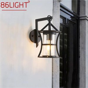 Outdoor Wall Lamps 86LIGHT Classical Lamp LED Light Waterproof IP65 Sconces For Home Porch Villa Decoration