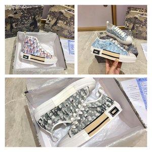 Лучшие дизайнеры Обувь B 23 Кочах Технология Canvas Тренажеры Кроссовки Мужчины Женщины Мода Дышащая на открытом воздухе Площадь Плоский Повседневный Тренер Кроссовки