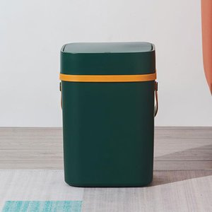 Waste Bins 10L Large-capacity Smart Sensor Trash Can, Automatic Touch Electric High-quality Living Room, Bedroom, Office