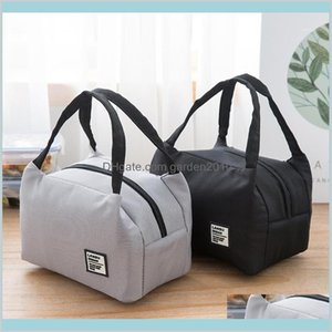 Storage Bags Home & Organization Housekeeping Garden Portable Lunch Bag 2020 Thermal Insulated Box Tote Cooler Bento Pouch Container S