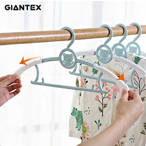 5 10 20pcs Baby Clothes Hanger Flexible Racks Plastic Clothing Display Kids Hangers Unmarked Children Coats Hanger Organizer