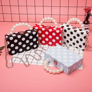 Cute Mini girls Handbags fashion sequin kids bags girl shoulder Messenger Bag chain wave point small square Handbag