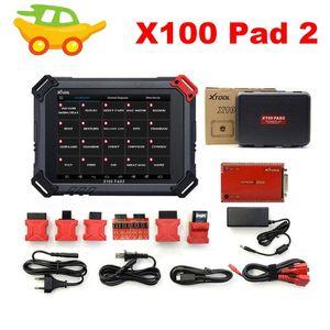 Herramientas de diagnóstico 100% ORIGINAL XTOOL X100 PAD2 Funciones especiales Versión de actualización de la almohadilla mejor que x300 Pro3 Programador de teclas AUTO 2