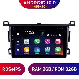 9 pulgadas Android 10.0 Coche DVD STEREO GPS Radio Player para Toyota RAV4 Mano izquierda Drivier 2013-2018 Soporte RDS Cámara trasera DVR