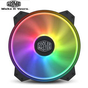 Cooler Master MF200R ARGB 20cm 5V 3PIN 12V4PIN RGB Computer Case Damping Fan CPU Water Cooling Replaces Fans PWM & Coolings