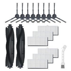 Vacuum Cleaners 17Pcs Replaceble Roll Brush Filter Side Brushes Accessories Set Parts For S9 Cleaner Sweeper Replace Home