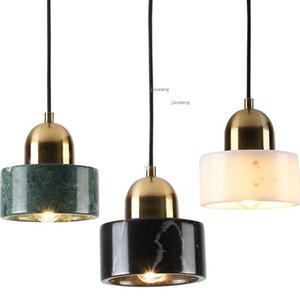 Pendant Lamps Modern LED Lights Creative Dining Room Hanging Lamp Marble Home Decor Indoor Lighting Light Fixtures Kitchen Accessory