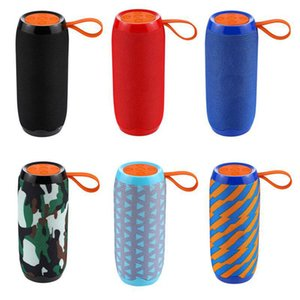 TG106 Wireless Bluetooth Speaker Portable Plug-in Card Outdoor Sports Audio Double Horn Waterproof Speakers 7 Colors