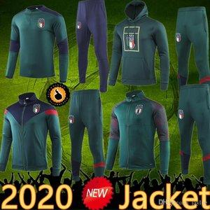 2020 이탈리아 재킷 훈련 정장 Tracksuit 운동복 futbol camisa totti pirlo insigne del piero 축구 유니폼 이탈리아 축구 Camiseta