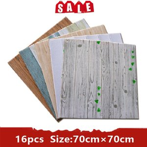 Wallpapers 16PCS Self-Adhesive Panels Bathroom 3D Wallpaper Waterproof Stickers Wall Kitchen Home Decoration