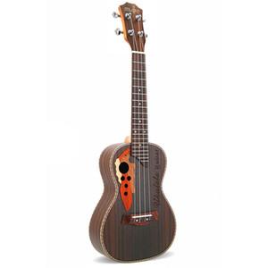 23 Inch Rosewood Concert 4 Strings Mini Guitar Hawaii Grape Hole Ukulele for Children Beginners UK23120