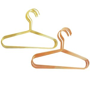 10Pack Metal Fashion Kids Clothes Hanger Baby Size Dividers, Space Saving Pants Hangers For & Racks