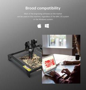 Printers Laser Engraver 40W ATOMSTACK A5 M40 Engraving Machine Wood Metal Cut Acrylic CNC Router R3 Roller Printer Carving Desktop Cutter