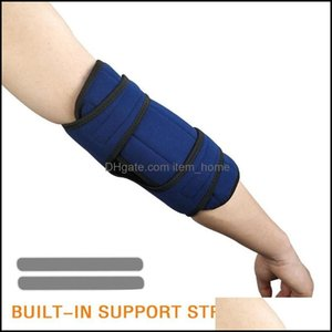 Elbow Athletic Outdoor As Outdoorselbow & Knee Pads 1Pc Fixed Brace Support Compressed Body Comfortable Light Airy Durable Movement Protecti