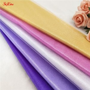 48CM*5M Wedding Party DIY Chair Sash Bow Table Runner Swag Skirt Decorationcurtain Fabric Supplies 5ZSH015 Decorative Flowers & Wreaths