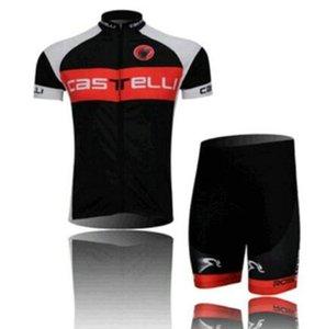 Yaz Ins Yüksek Kaliteli Erkekler Stil Bisiklet Eşofmanlar Rahat Bisiklet / Bisiklet Açık Jersey Önlüğü Şort Set ve Formalar Pantolon Suit