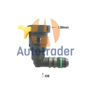7.89mm-ID8 Parts Pipe Fittings Fuel Quick Connector For Chevrolet Car
