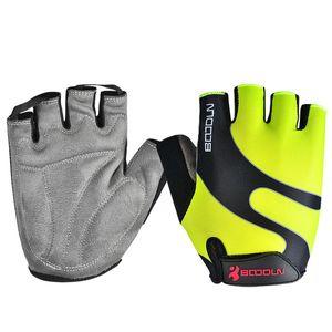 Brand Summer Men Women Cycling Gloves Half Finger Skate Gym Ftiness Airsoft Sport MTB Bike Bicycle Gloves for Kids Boys Girls 210420