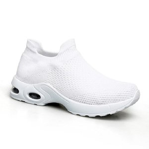 style16 fashion Men Running Shoes White Black Pink Laceless Breathable Comfortable Mens Trainers Canvas Shoe Sports Sneakers Runners 35-42