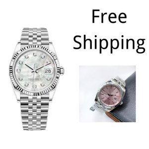 Alto AAA Quality Montre de Luxe Mens Relojes automáticos de acero inoxidable lleno Mujeres luminosas Relojes de parejas Estilo de las parejas Relojes de pulsera clásicos Regalo
