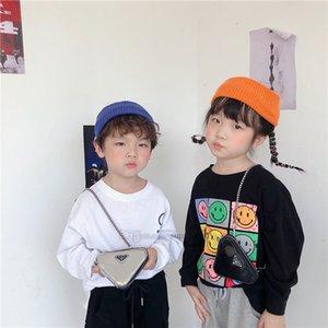 Bambini di lusso Borsa a triangolo Ins Girls Metail Catena Mini MessenGR BAG Designer Bambini PU Zero Portafoglio Ragazzi Busto Borse A6563