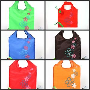 Strawberry Foldable bag Reusable Eco-Friendly Shopping Bags Pouch Storage Handbag Strawberry Foldable Shopping Bags Folding Tote 3 X2