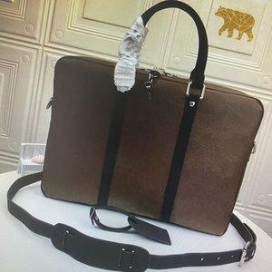 brand v PM Small Briefcases PORTE-DOCUMENTS VOYAGE Briefcase Business Men Shoulder Laptop Bag Totes Handbag Computer Bags Duffel Bag