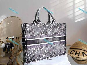 2021 designer fashion handbag shopping bags printed embroidery one shoulder large capacity bucket bag