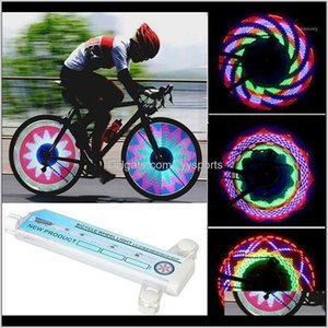 Lights 1Pc Bicycle Light Colorful Led Bike Tyre Tire Wheel Spoke Lamp Outdoor Cycling Accessories1 Pieyn Wfxkq