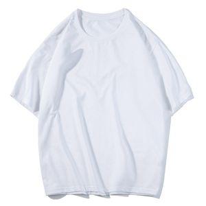 Streetwear Hip Hop Tarzı Yaz Erkek T-shirt Katı Renk Pamuk Kısa Kollu Yüksek Kalite Moda Üst Erkekler T Gömlek Boyutu S-3XL