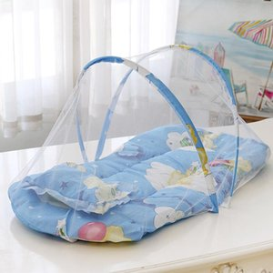Crib Netting Baby Portable Foldable Bed Mosquito Net Polyester Born For Summer Travel Play Tent Children