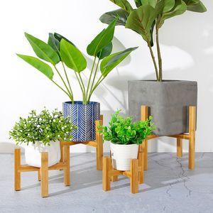 بوعاء النبات الوقوف منتصف القرن الحديثة حامل مصنع قابل للتعديل لزهور وعاء العصارة الزهور أو الشموع 601 S2