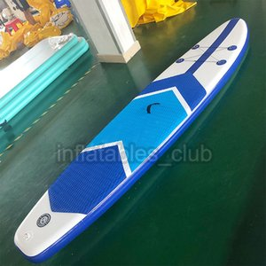 Portable Inflatable Paddle Board For Adults 305*76*15cm Surfboard With Accessories Hot Floating Mat Surfing Fishing Boat Launch Ski