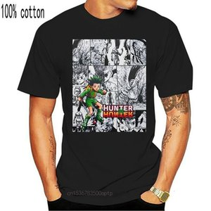 X Hunter Manga Strip HXH Gon Anime Unisex Tshirt T Shirt Tee Tops T Shirt Tee Tüm Boyutları T-Shirt Gençlik orta yaş için eski